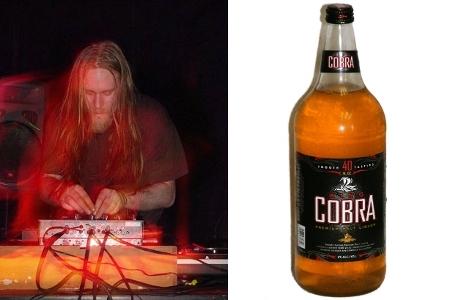 Venetian Snares & King Cobra Premium Malt Liquor