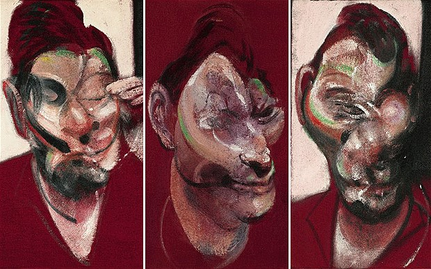 Francis Bacon - Three Studies for a Portrait of Lucian Freud