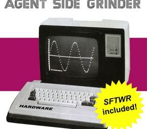 "End to End: Agent Side Grinder, ""SFTWR"""
