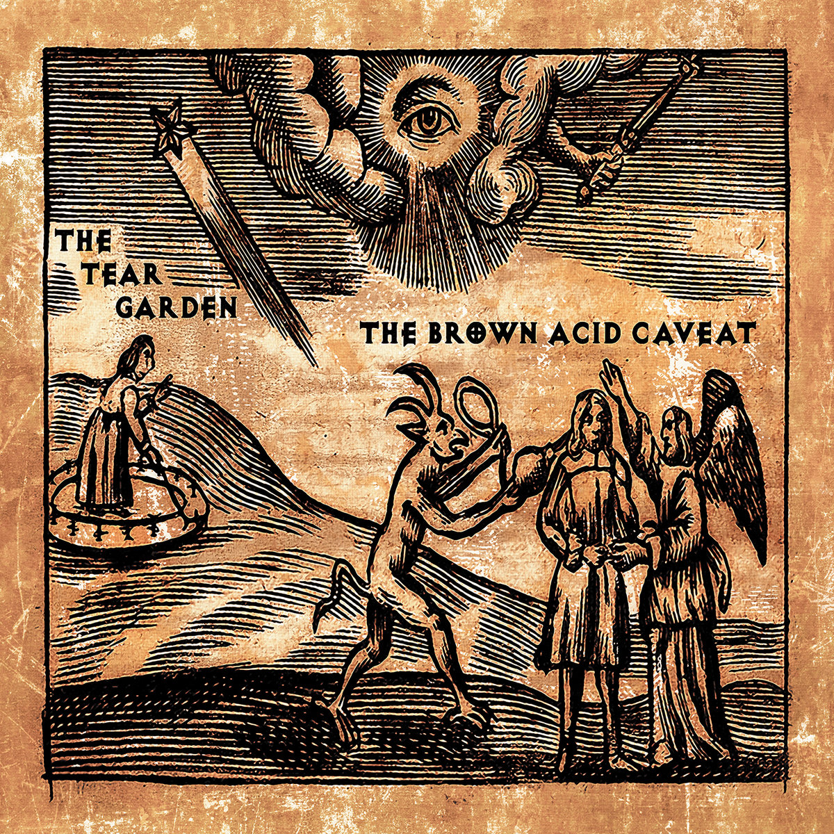 Fine Lyrics To In The Garden Crest - Brown Nature Garden ...
