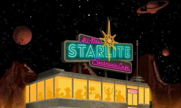 "Glass Apple Bonzai, ""The All-Nite Starlite Electronic Café"""